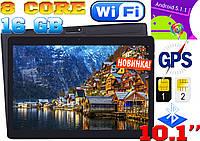 Планшет телефон Asus 107, 8 ядер, 10'', 1Gb/16Gb, GPS, 2 sim, чехол