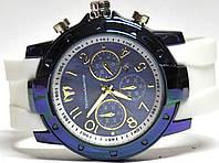 Часы на резиновом ремешке 00446