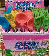 Мыльные Пузыри МП-5 Инструменты (ложка, лопатка, грабли, сито) 26,5х2см 4вида уп36 ящ216