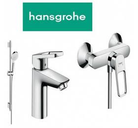 Набор смесителей для душевой Hansgrohe Logis Loop 70