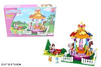Детский конструктор для девочек Ausini (24507 ) серия Страна чудес  Детская площадка 222 детали