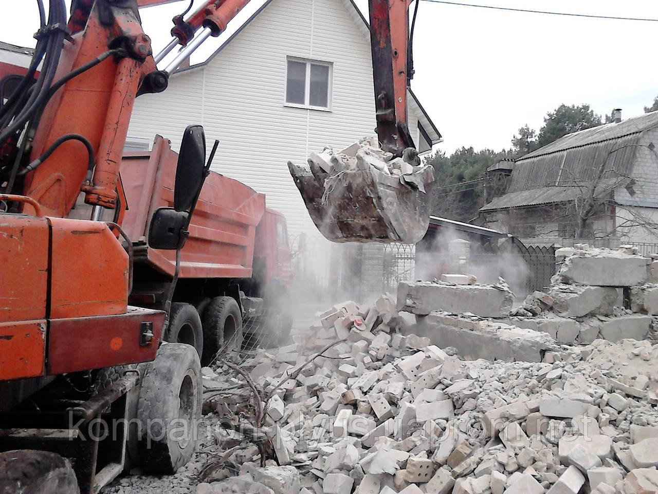 Демонтаж будинку Київ