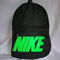Рюкзак Nike, Найк чёрный с зеленым
