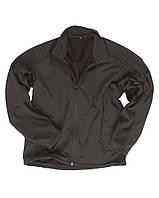 Куртка Softshell триламинат, лёгкая, black