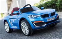 Детский электромобиль BMW FT 6688 на EVA колесах (под резину) СИНИЙ