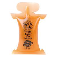 Лубрикант Sex Tarts® Lube, Tangy Tangerine, 6 мл
