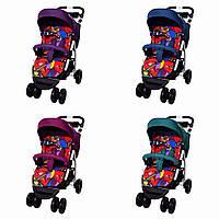 Яркая детская прогулочная коляска CARRELLO Avanti T-1406