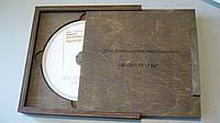 Деревянная, подарочная коробка для диска