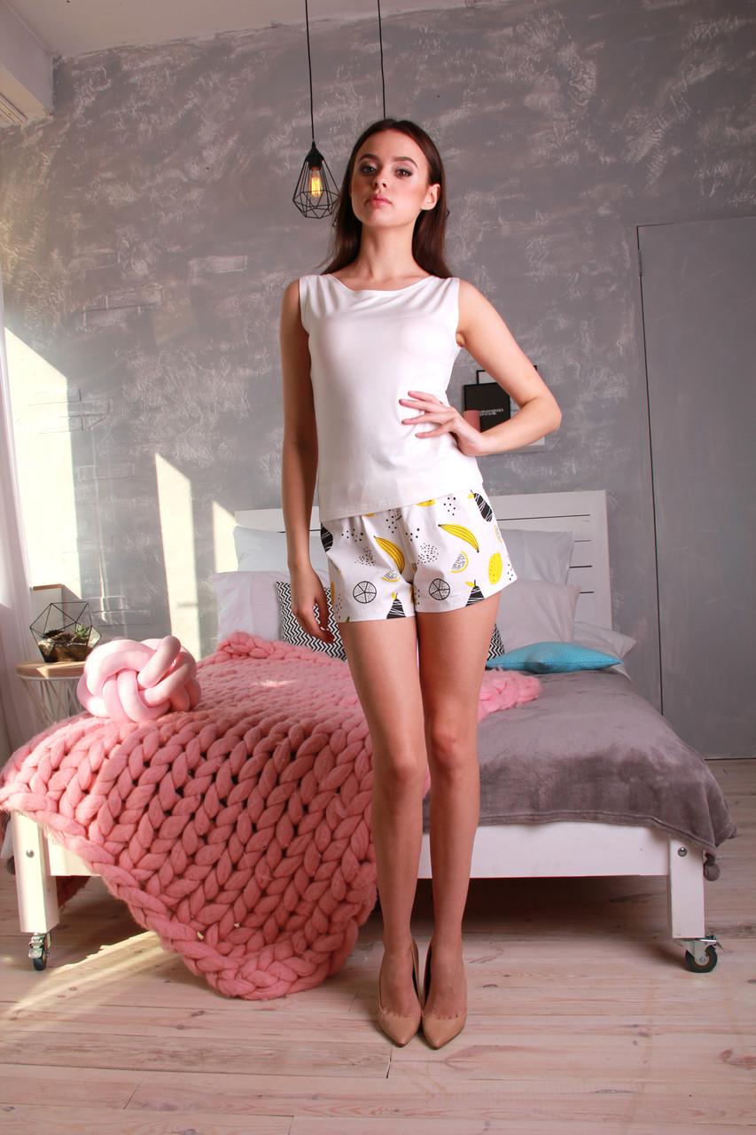 Женский комплект для сна с шортами Илиза - DS Moda - женская одежда от производителя в Харькове