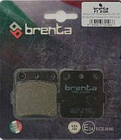 Тормозные  колодки BRENTA FT 3106 органические  на мототехнику