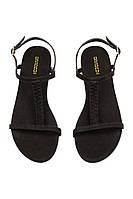 Женские сандалии черные H&M  р36, фото 1