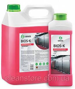 """Высококонцентрированное щелочное средство Grass """"Bios K"""", 5,6 кг."""