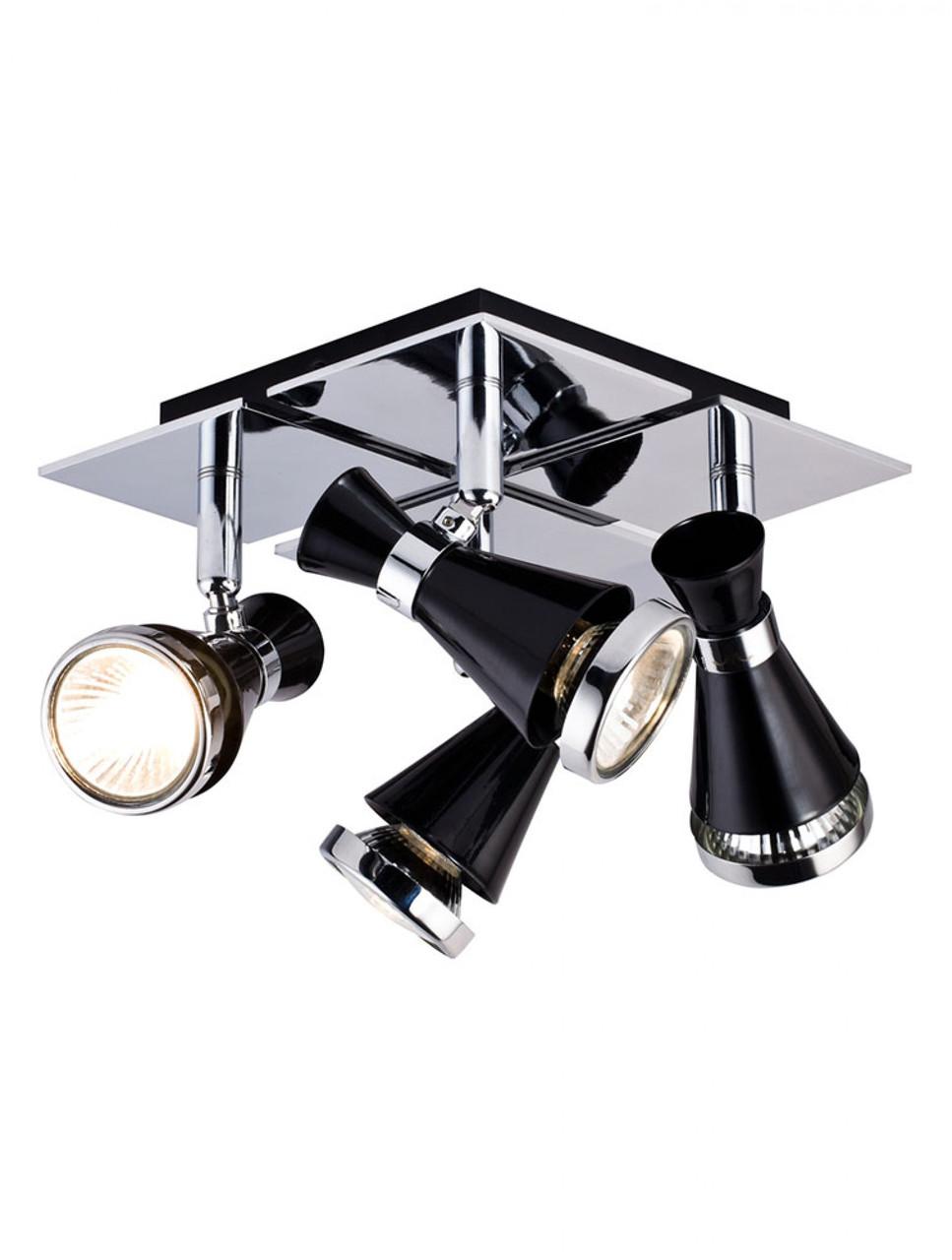 Спот, потолочный светильник 4-х ламповый 12027