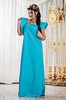 Платье женское свободного кроя на лето
