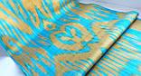 """Шелковая ткань в технике """"Икат"""". Узбекистан, фото 2"""