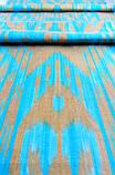 """Шелковая ткань в технике """"Икат"""". Узбекистан, фото 4"""