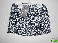 Трикотажные шорты для девочек ТМ Lovetti, Турция оптом р.5-8 лет (4 шт в ростовке)