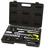 Профессиональный набор инструментов Сталь 72 единицы