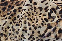 Ткань Шифон леопардовый принт, фото 1
