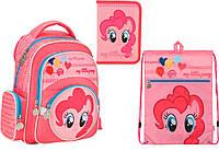 """Комплект школьный. Рюкзак """"My Little Pony"""" LP17-525S, Пенал и Сумка, ТМ  KITE"""