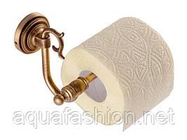 Бронзовый держатель туалетной бумаги без крышки KUGU Versace Antique 212A