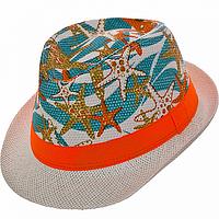 Детская шляпа гуцулка из рисовой соломки