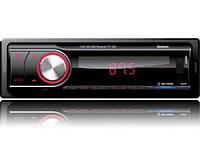 Автомагнитола Fantom FP-330 USB/SD 1 Din Black/Red