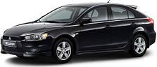 Чехлы на Mitsubishi Lancer X Sportback с 2008 года до этого времени