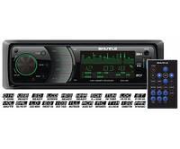 Автомагнитола Shuttle SUD-395 USB/CD 1 Din Black/Multicolor