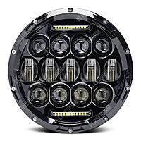 FB-HL80A Светодиодные LED фары 7 дюймов (Нива, УАЗ 469, ГАЗ 24, ВАЗ 2101, Хаммер, FJ Cruiser, w463, мотоцикл)
