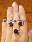 Комплект серьги и кольцо Лэйла, фото 6