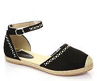 Качественные женские босоножки, сандали на плоской подошве