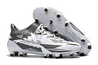 Футбольные бутсы adidas X 16.1 FG White/Core Black, фото 1