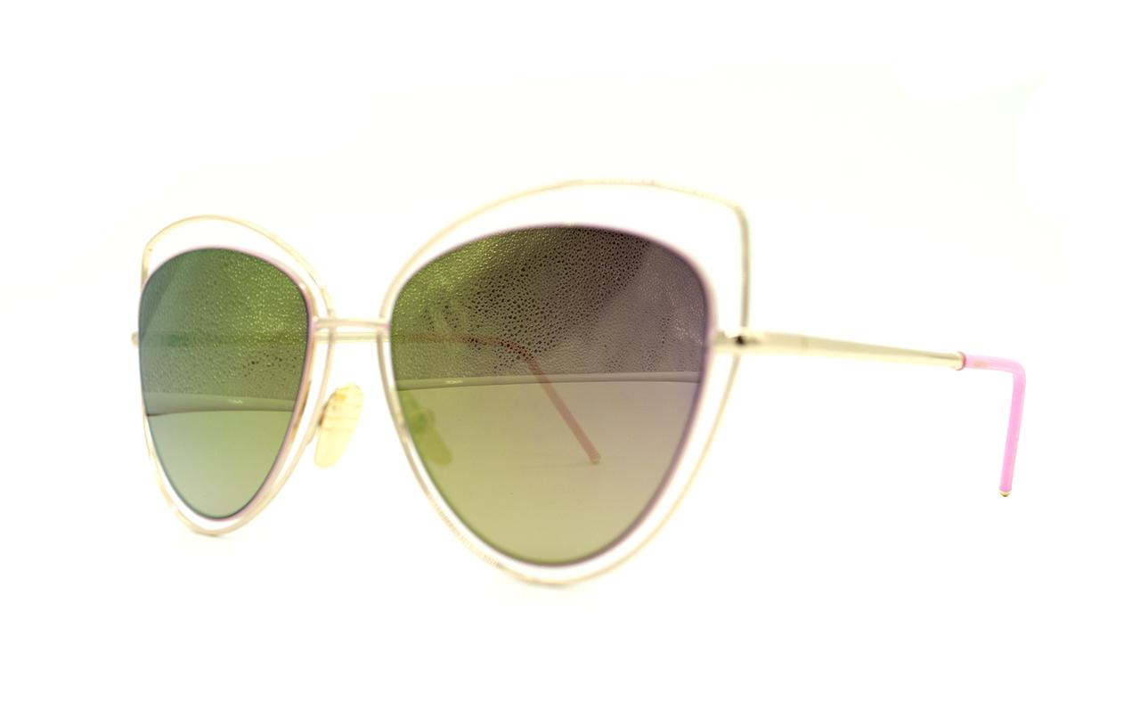 Розовые женские солнцезащитные очки Aedoll