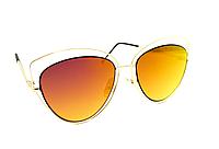 Оранжевые солнцезащитные очки для женщин
