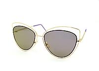 Солнцезащитные женские очки фиолетовые линзы