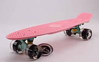 Пенни борд FISH SK-405-16 со светящимися колесами