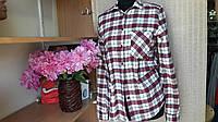 Женская рубашка клетка Zara 2017
