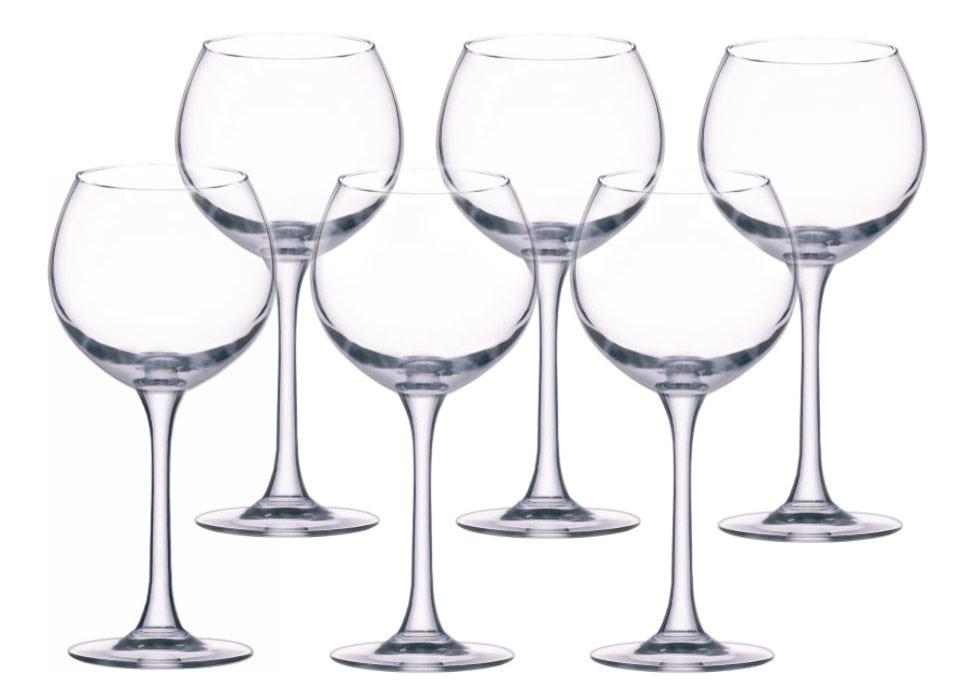 Набір келихів для вина Едем 280мл. 6шт