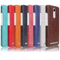 Чехол накладка бампер Croco на Lenovo Vibe K5 Note (8 цветов)