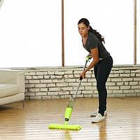 Швабра для пола  с распылителем Healthy Spray Mop - швабра для сухой и влажной уборки