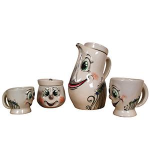 Декоративный чайный комплект