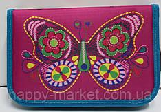 Пенал твердый Smart Butterfly 1 отд. и 1 отвор. 531350