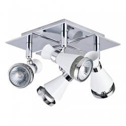 Спот, потолочный светильник 4-х ламповый 12034