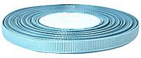 Лента репсовая №20 голубая (0.6 см х 25 ярдов)