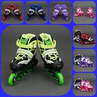 Ролики 1001 Best Rollers размер 30-33 PU колёса + сумка, фото 1