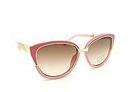 Розовые солнцезащитные очки женские Aedoll