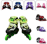 Ролики 1002 Best Rollers размер 34-37 PU колёса + сумка