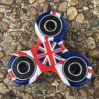 Непоседа вертушка спиннер Английский флаг, Fidget Hand Spinner Британский флаг