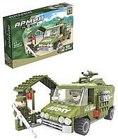 Детский Конструктор для мальчиков  Конструктор (22407) Ausini   Армия 166 деталей